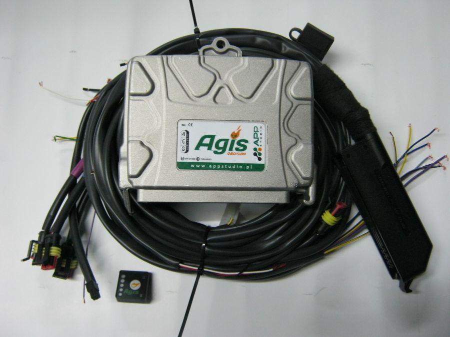 AGIS OBD/CAN самоадаптивна - газов инжжекцион