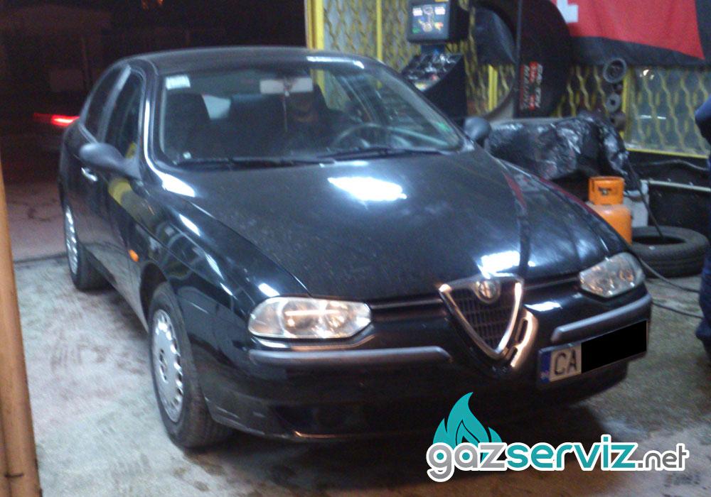 Alfa Romeo 156 с газова уредба софия газ сервиз