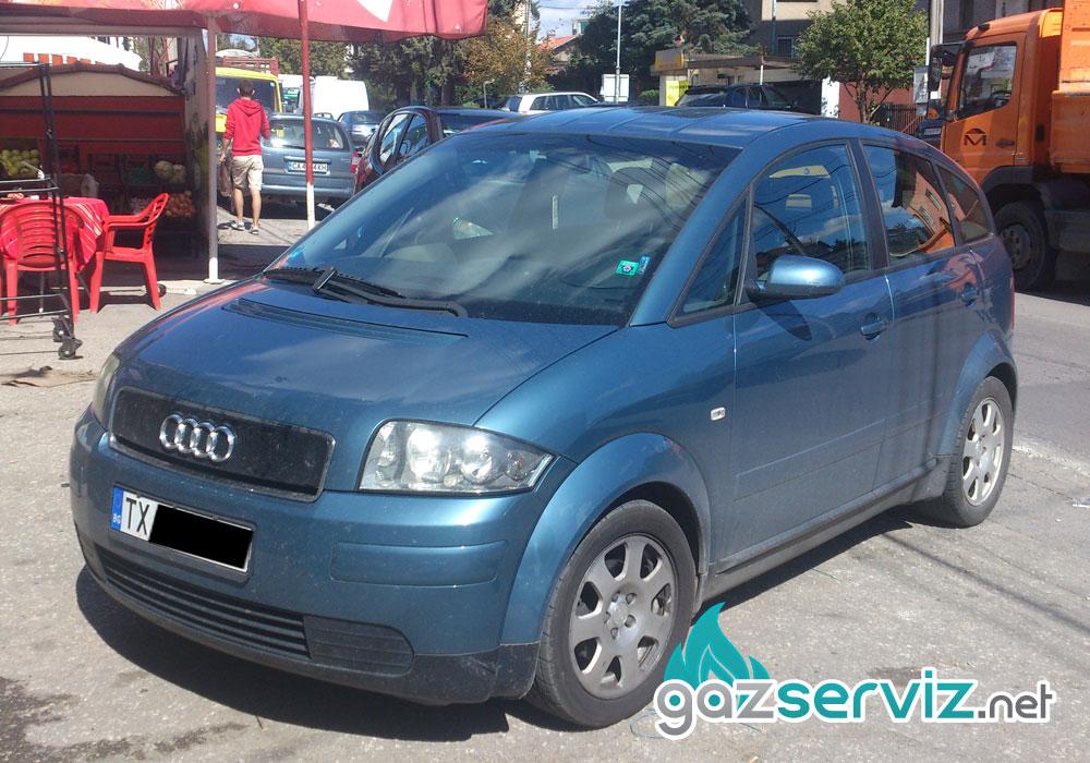 Audi A2 с газова уредба Agis - Газ Сервиз София