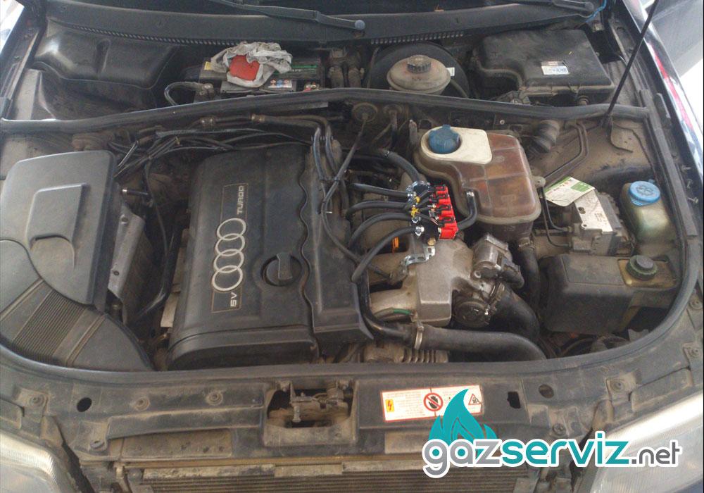 Газови инжекциони, монтаж - Audi A4 софия сервиз