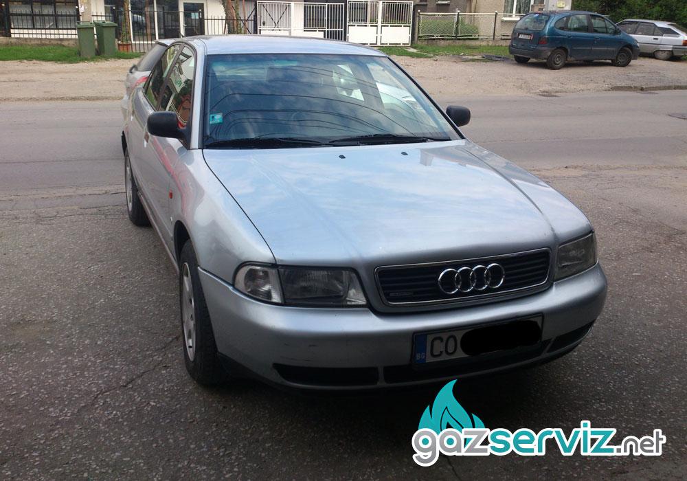 Audi A4 1.8 с газов инжекцион Agis Газ сервиз