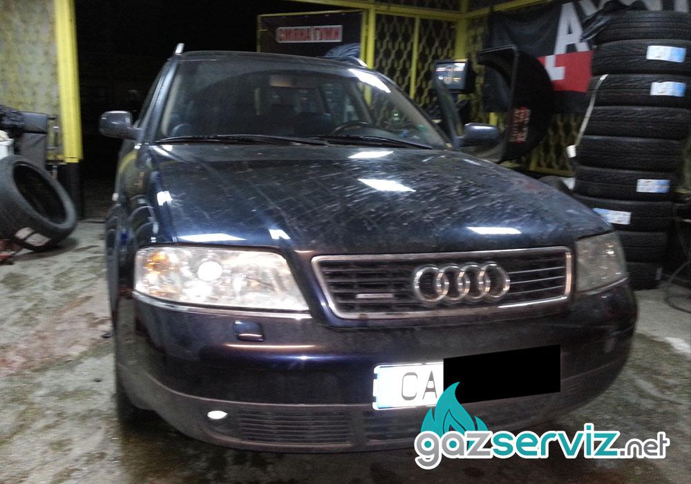 Газови инжекциони, монтаж - Audi A6 V6 - Газ Сервиз