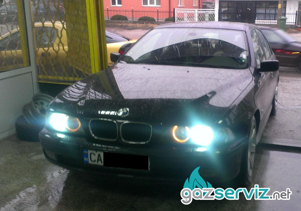 Газови инжекциони, монтаж BMW 520 E39 газ сервиз софия