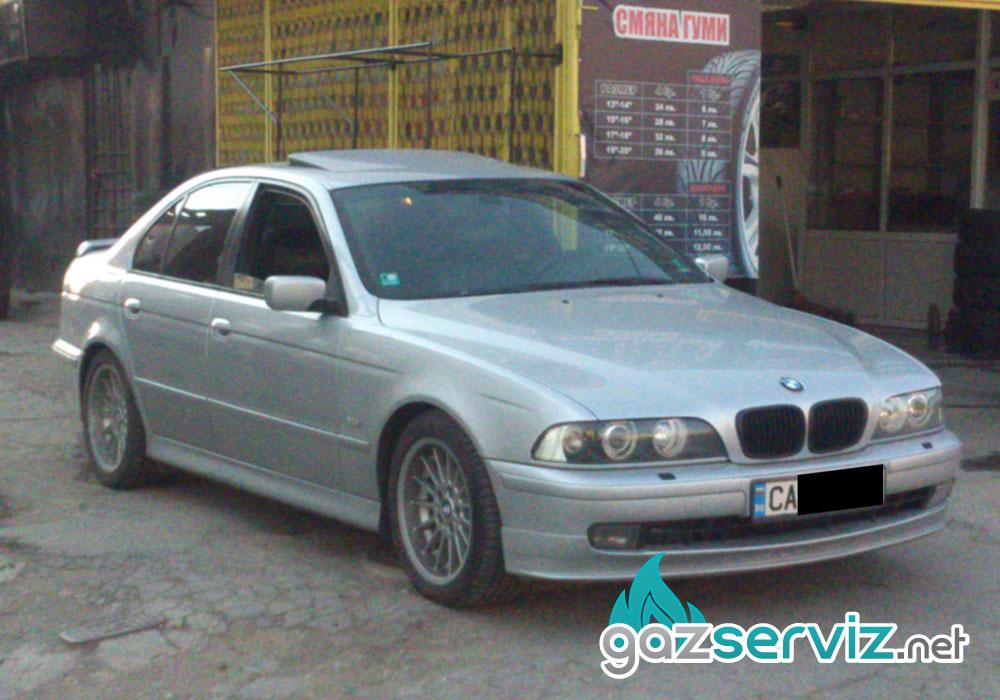 Газови инжекциони, монтаж BMW 528 Е39 софия