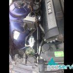 Поставяне на газови нжекцион Agis OBD на BMW 728 E38 193 к.с. със изпарител R-Duo
