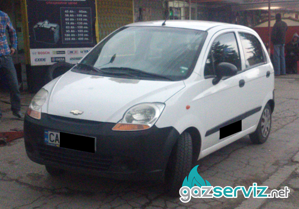 Chevrolet Spark с газов инжекцион Agis софия