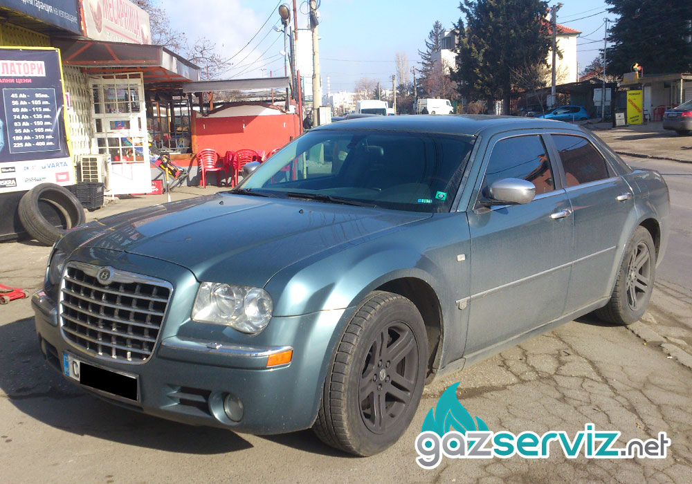Газови инжекциони монтаж Chrysler 300c Газ сервиз София