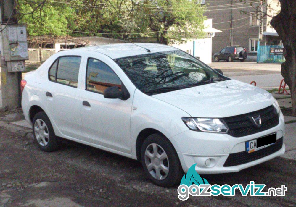 Dacia Logan с газов инжекцион Agis - Газ Сервиз
