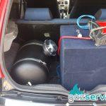 Fiat Punto с газова уредба Agis газови уредби софия