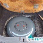 Поставяне на газов инжекцион Bardolini Compact наHyundai Coupe 1.6 с тороидална бутилка ( тип резервна гума ) - Газ сервиз