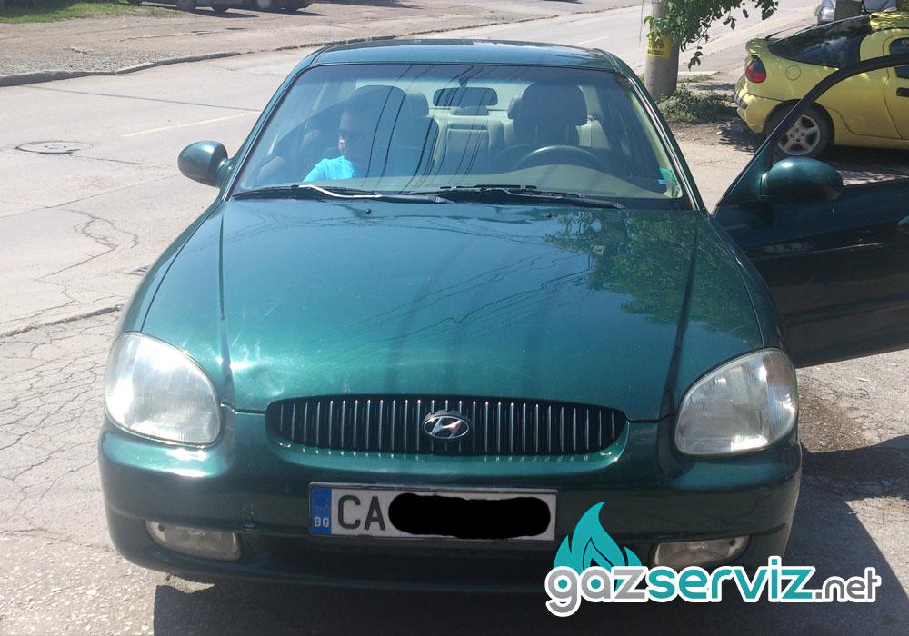 Монтаж газови уредби - Hyundai Sonata с Bardolini