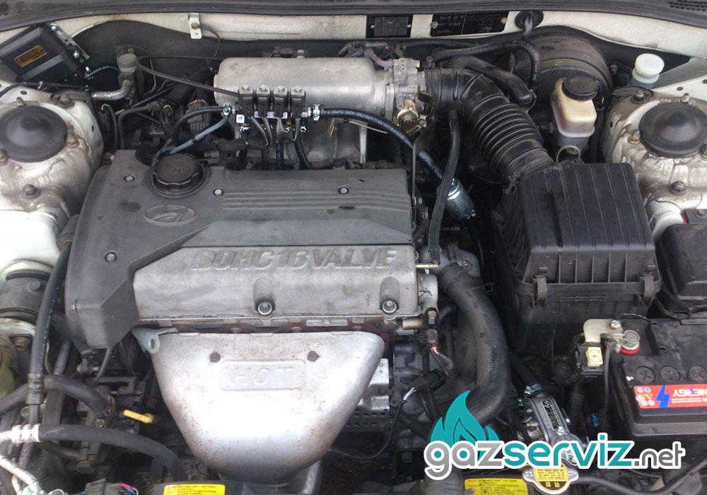 Hyundai Sonica с газова уредба софия сервиз