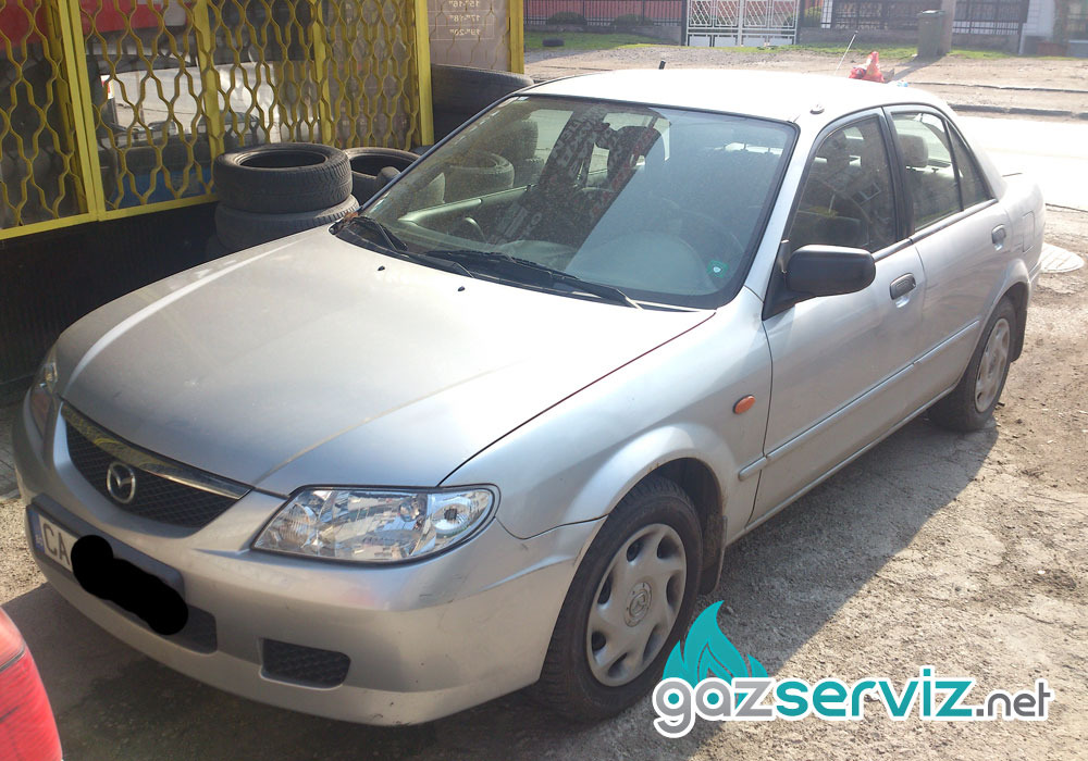 Mazda 323 с газов инжекцион Bardolini цена софия