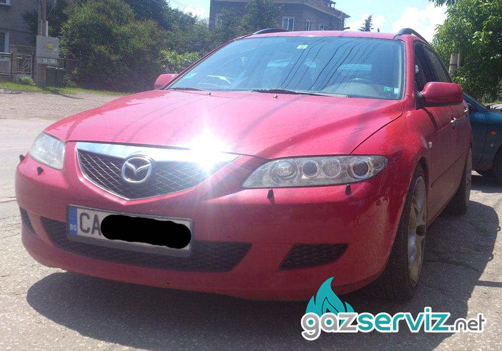 Газови инжекциони, монтаж - Mazda 6 газ сервиз