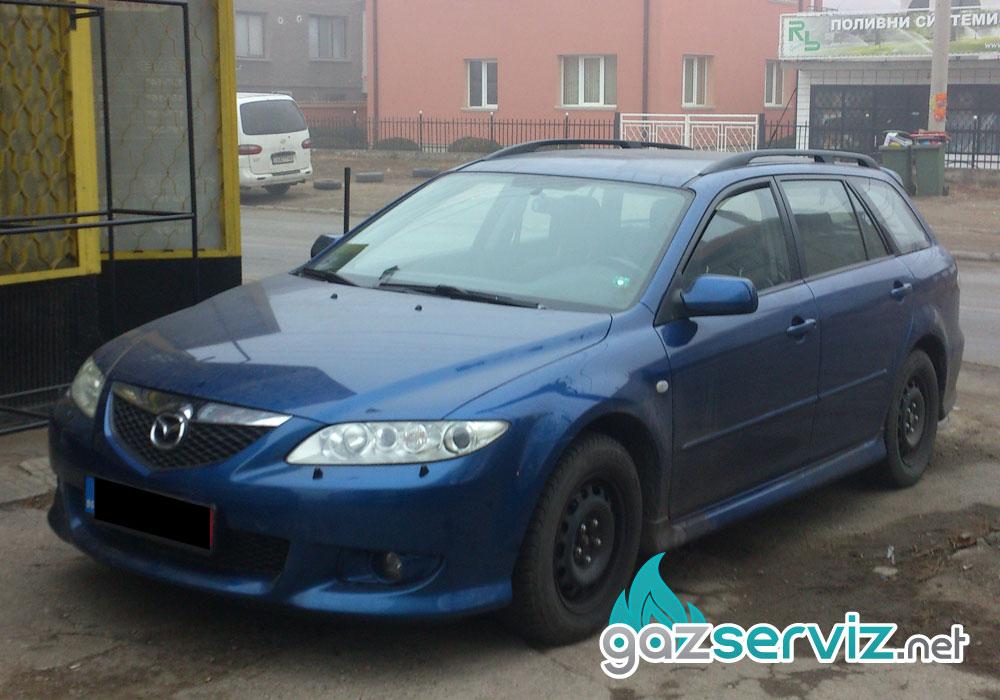 Газови инжекциони, монтажи - King OBD на Mazda 6 / Газ сервиз София - Тел.: 0897252727