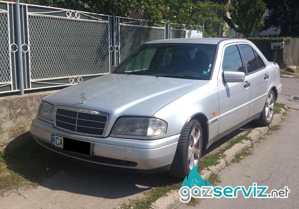 Mercedes C200 с газова уредба Agis софия
