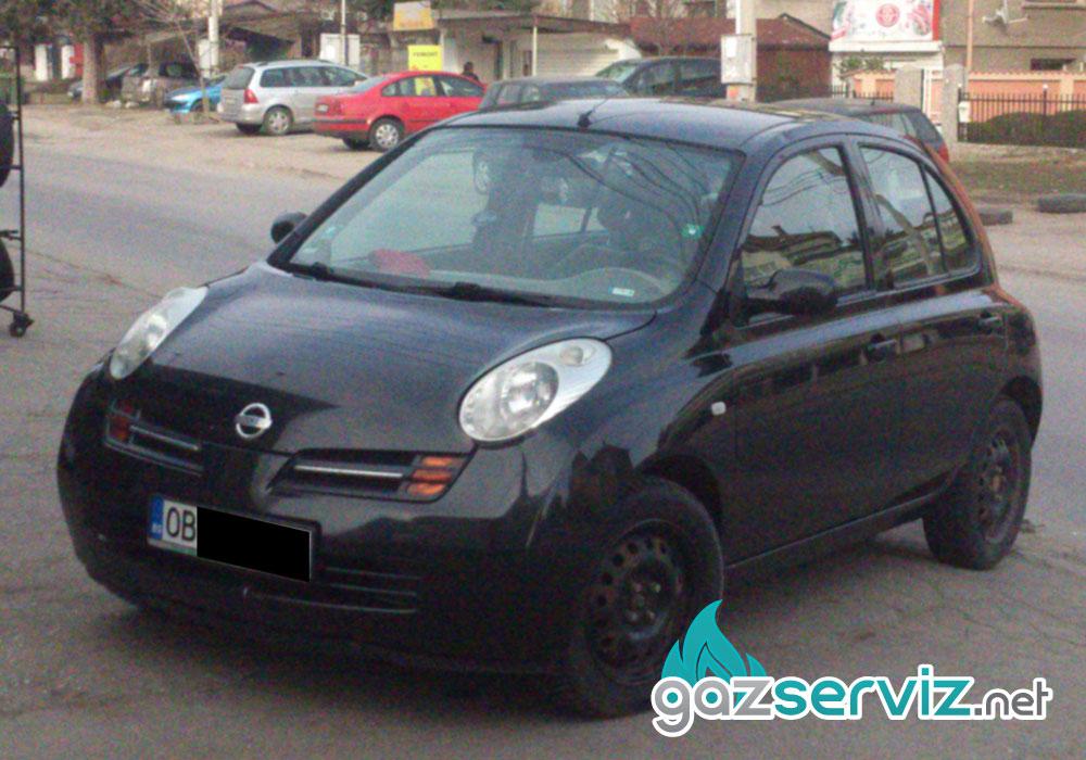 Газови инжекциони, монтаж - Nissan Micra софия