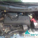 Nissan Micra 1.2 с газов инжекцион Agis OBD | Газ Сервиз