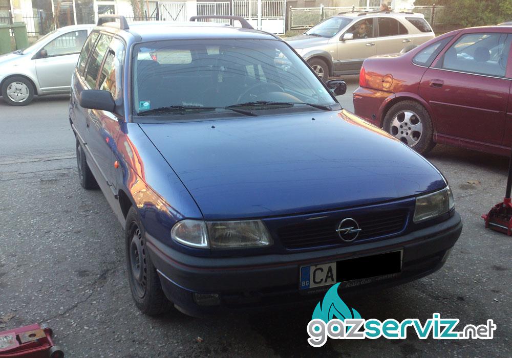 Поставяне на газов инжекцион Agis на Opel Astra F 1,6.