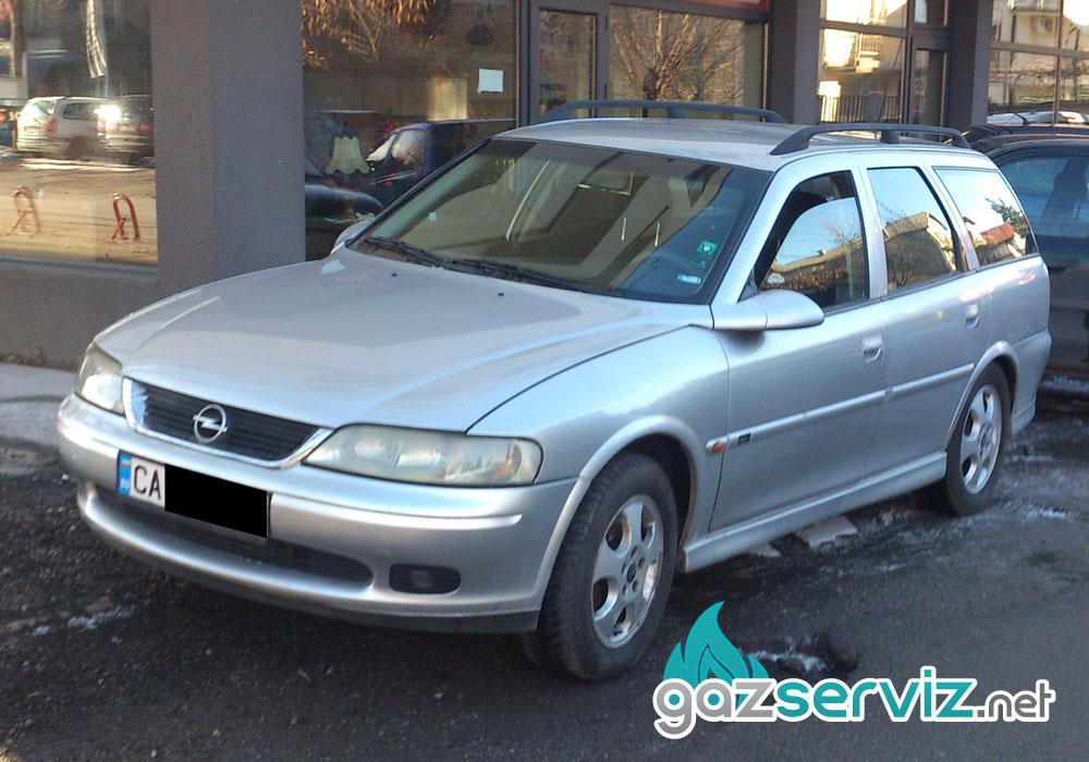 Opel Vectra B газова уредба Bardolini - Газ сервиз