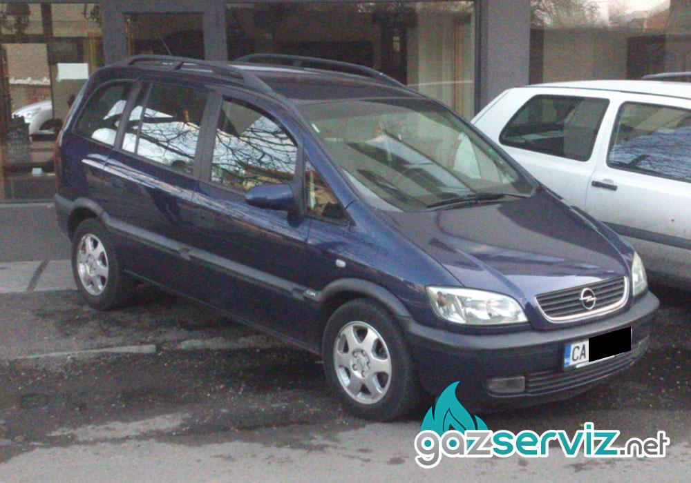 Газови инжекциони, монтаж Opel Zafira софия газ сервиз