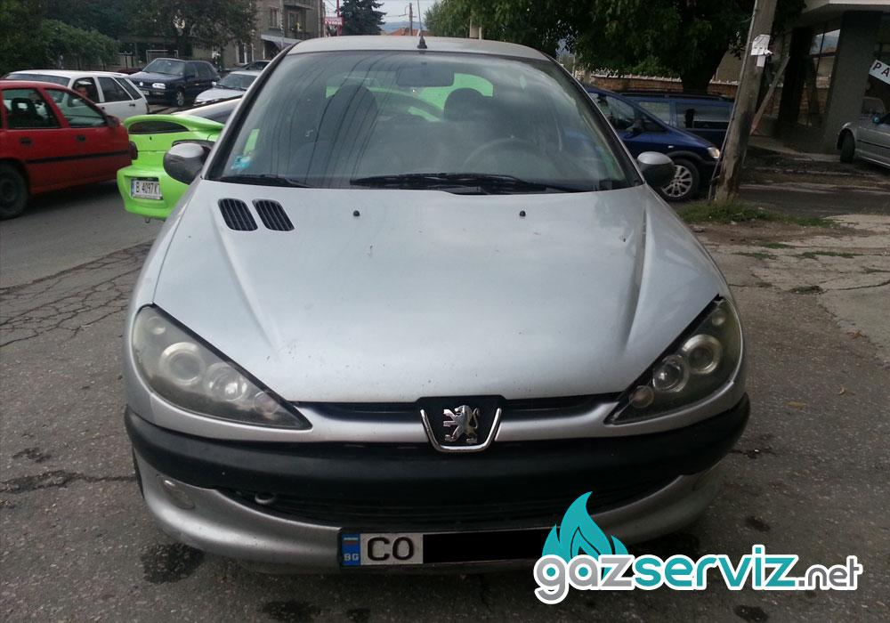 Peugeot 206 с газова уредба Agis - Газ сервиз София