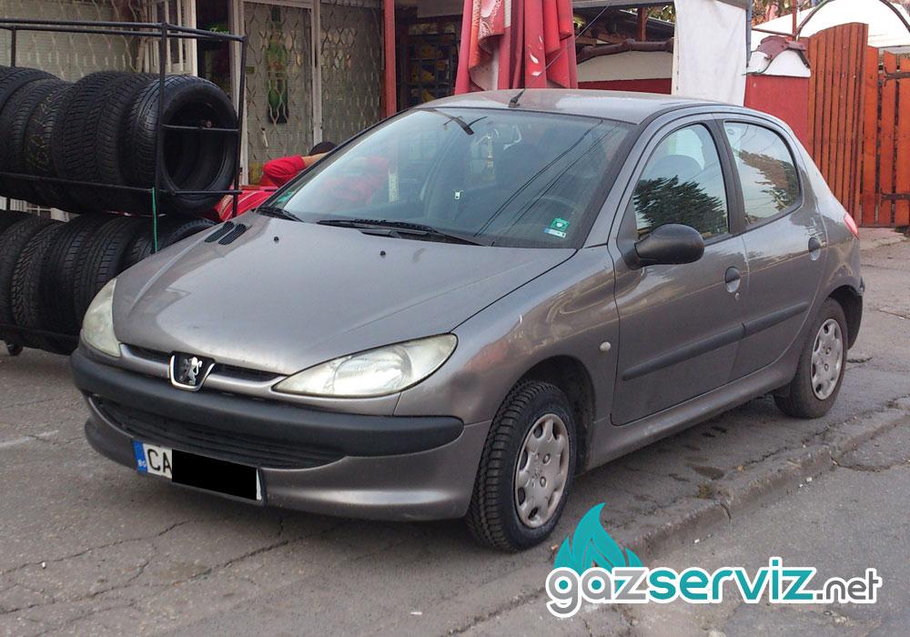 Peugeot 206 с газова уредба газ сервиз софия цена