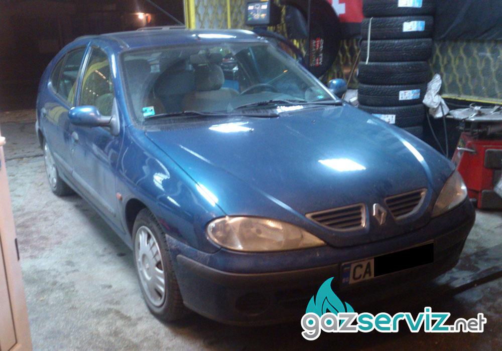 Renault Megane с газова уредба софия сервиз