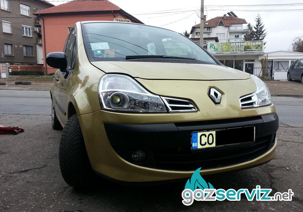 Газови инжекциони, монтаж - Renault Modus - Газ Сервиз София