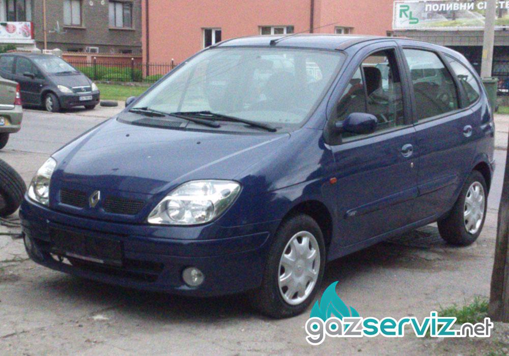 Renault Scenic с газова уредба Agis - газ сервиз софия