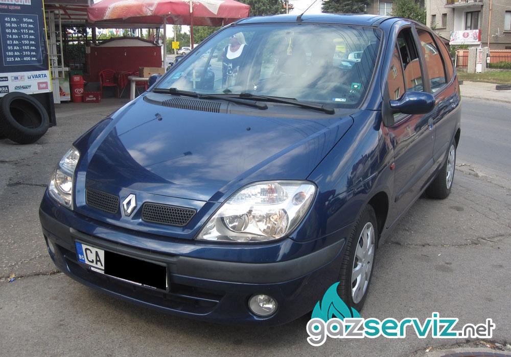 Renault Scenic с газов инжекцион Agis - Газ сервиз София
