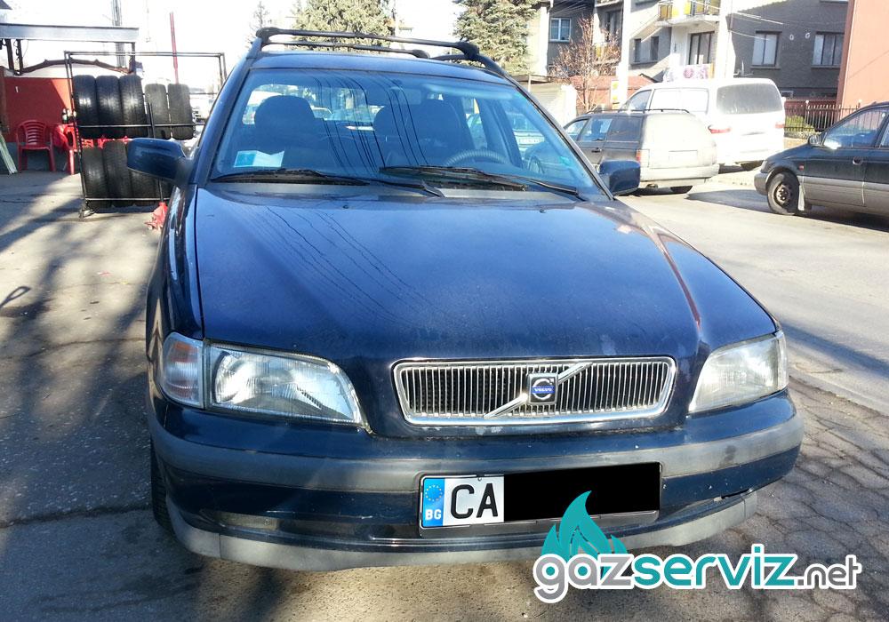 Газови инжекциони, монтаж - Volvo V40