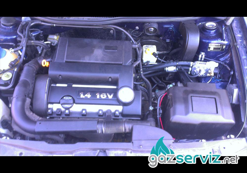 VW Golf IV с газова уредба - газ сервиз софия