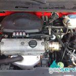 VW Polo с газова уредба Agis - газ сервиз