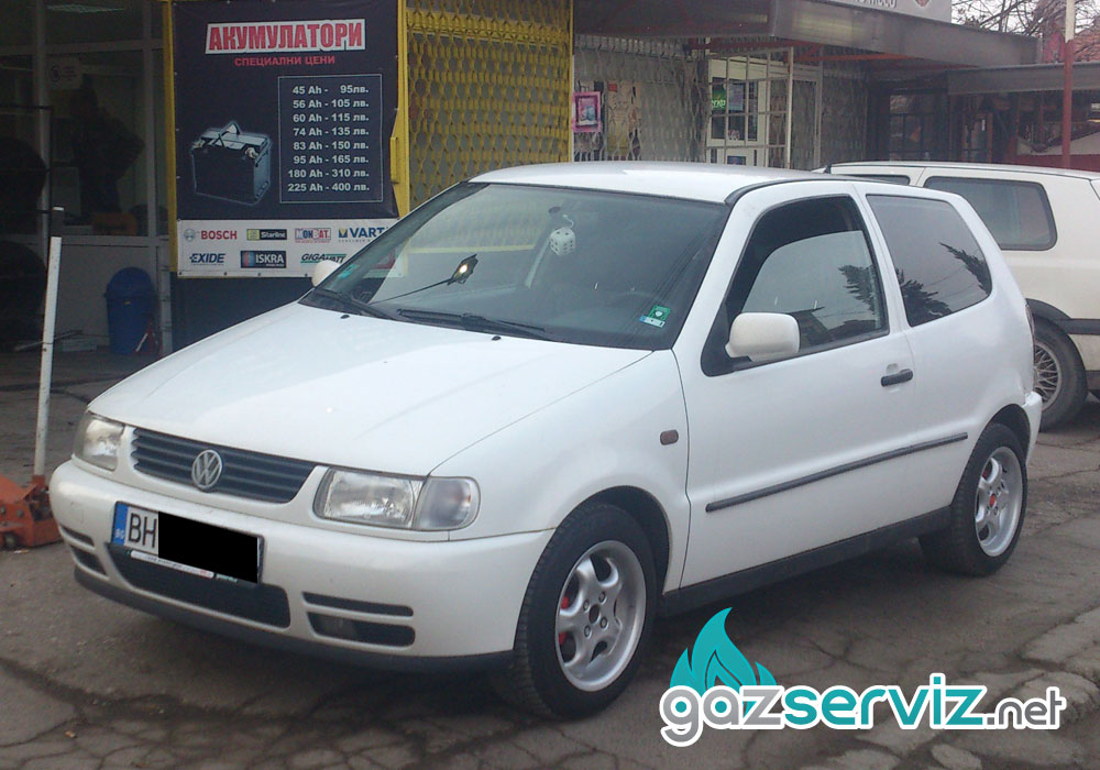Газова уредба Agis на VW Polo / Газ сервиз София - Тел.: 0897252727