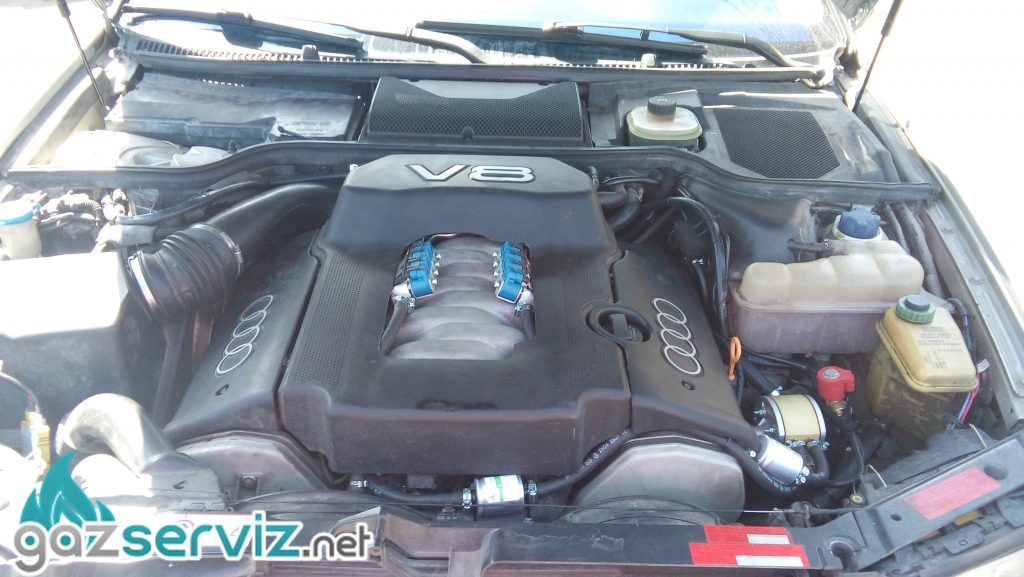 Газови инжекциони, монтаж - Audi A8 сервиз софия