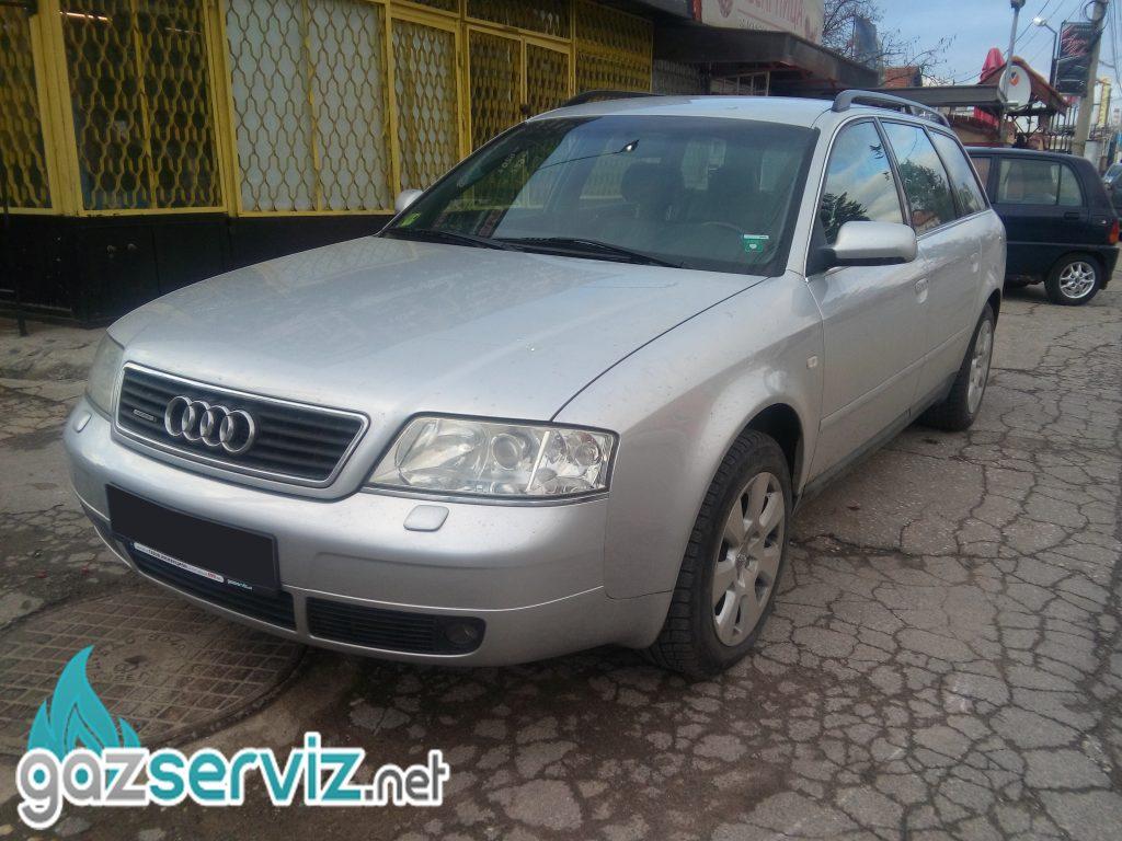 Газови инжекциони, монтаж - Audi A6 газ сервиз