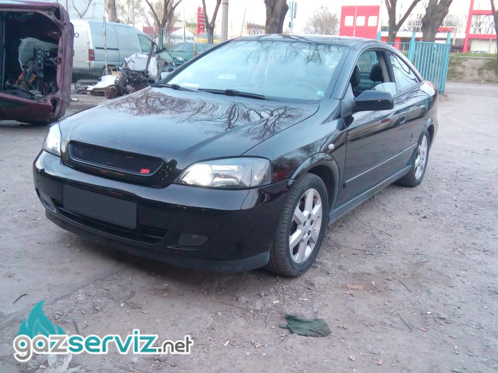 Газови инжекциони, монтаж - Opel Astra Bertone