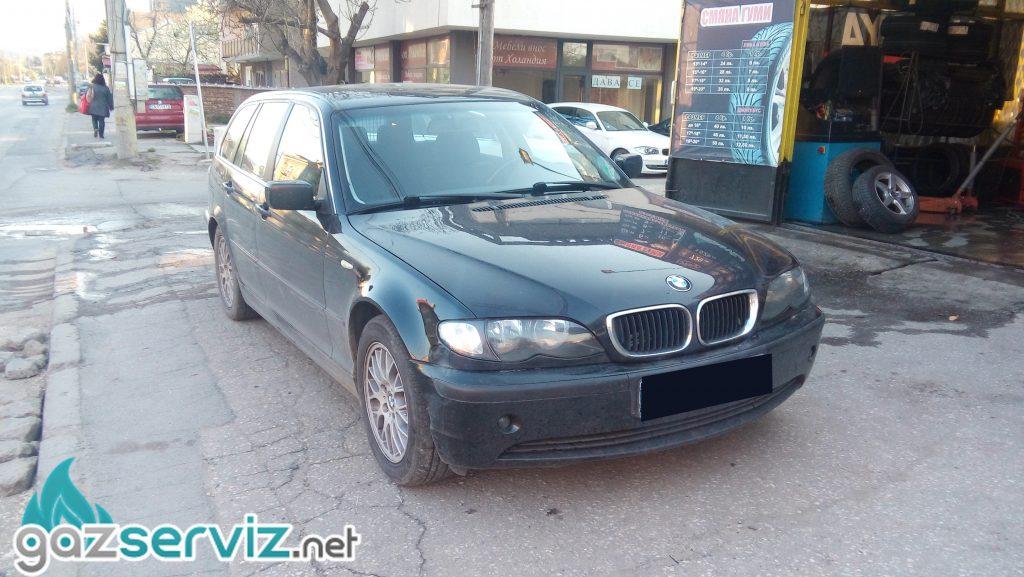 BMW E46 с газов инжекцион BARDOLINI