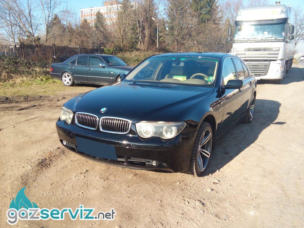 Газови инжекциони, монтаж - BMW 745 / София газ сервиз