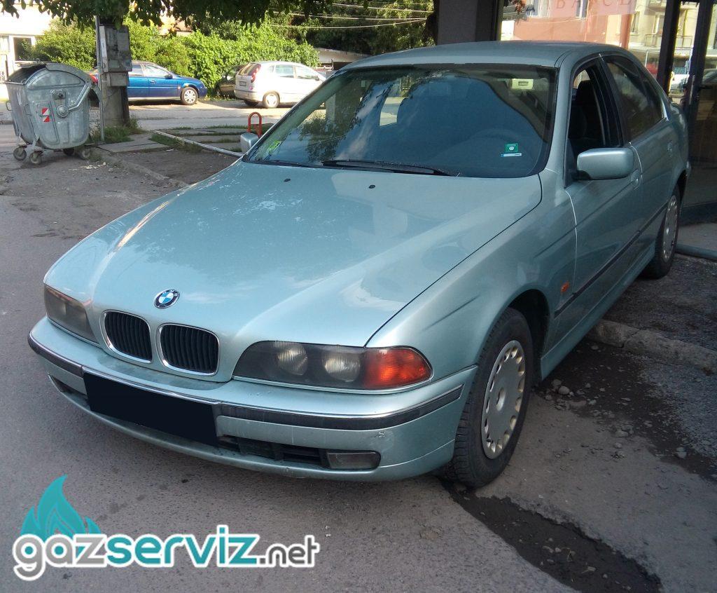 Газови инжекциони, монтаж BMW E39 520 - Газ Сервиз София