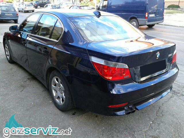 Газови инжекциони, монтажи - BMW E60 530 231 к.с. / Газ сервиз София - Тел.: 0897252727