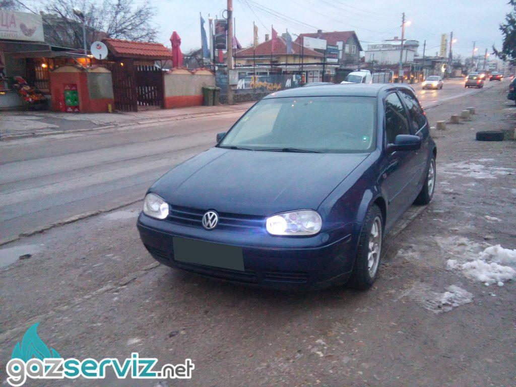 VW GOLF 1.8 turbo 150 к.с. Газов инжекцион Lovato | Газ Сервиз