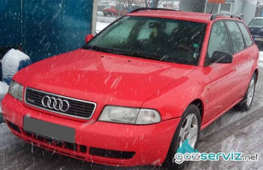 Audi A4 с газова уредба Digitronic софия газ сервиз