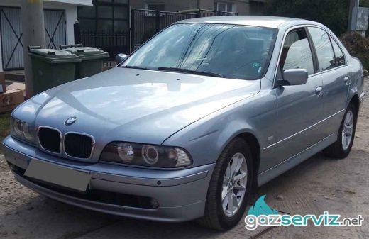 BMW E39 520 с газова уредба Digitronic газ сервиз