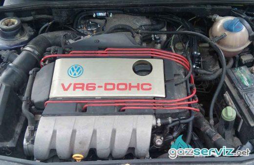 VW Golf 3 VR6 газова уредба Digitronic - софия газ сервиз