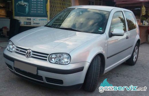 VW Golf 4 с газова уредба - софия сервиз
