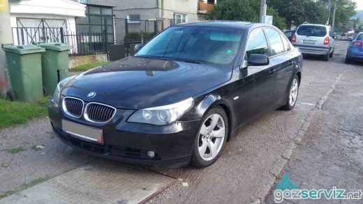 Газови инжекциони, монтаж - BMW E60 газ сервиз софия