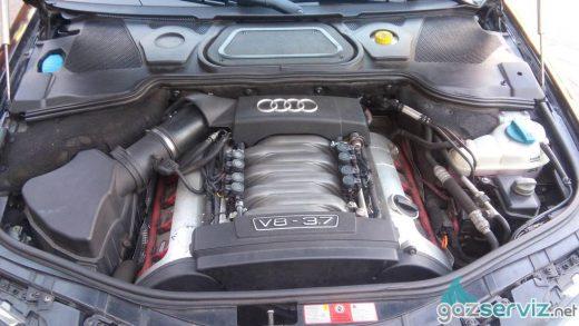 Газови инжекциони, монтаж - Audi A8