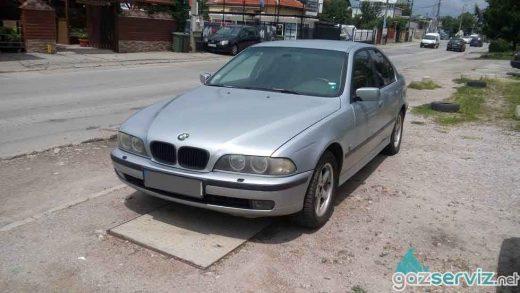 BMW E39 523 с газова уредба Digitronic газ сервиз софия цена